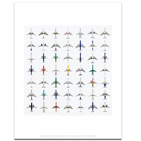 49 Jets Jeffrey Milstein Art Print
