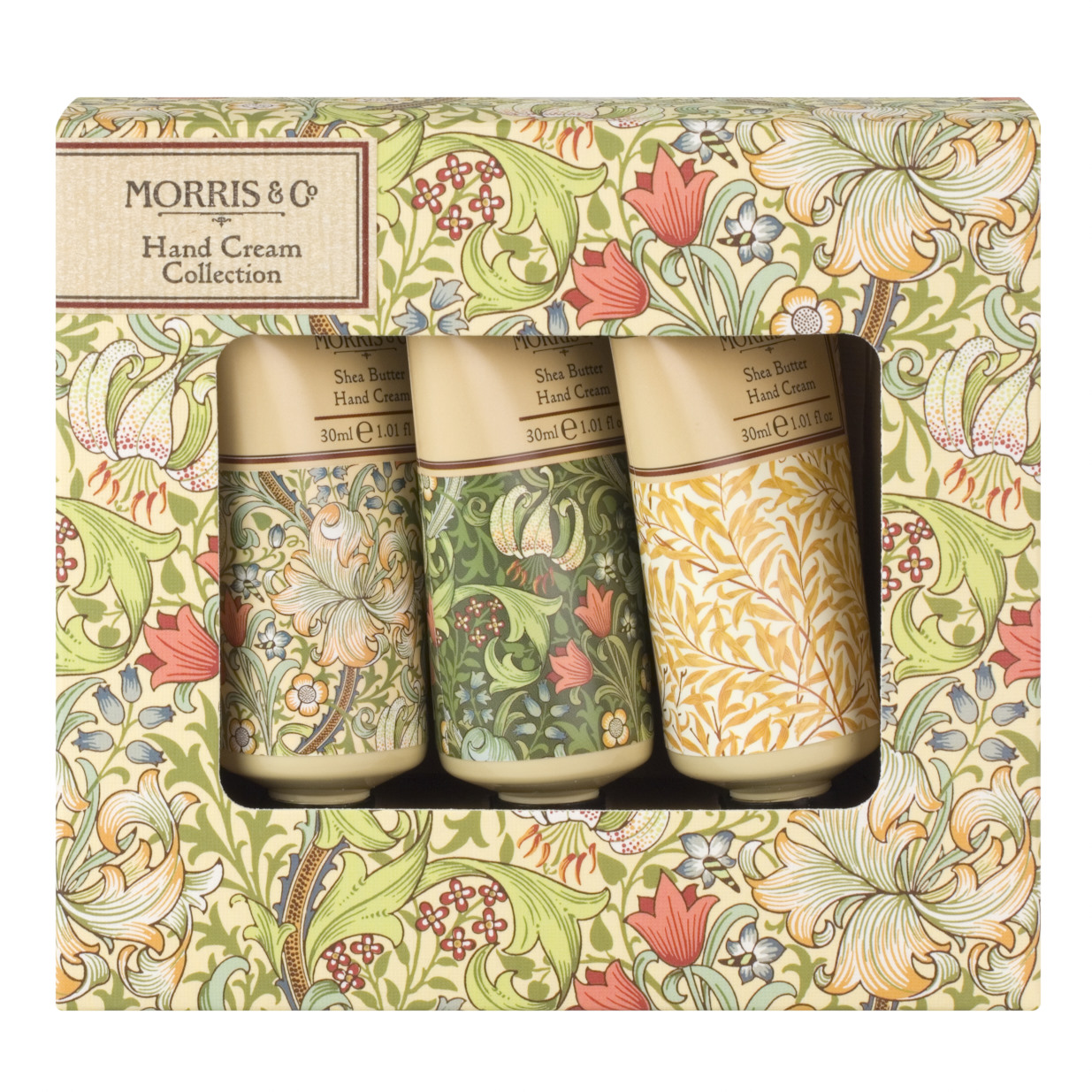 Morris & Co Golden Lily Hand Cream Collection Box