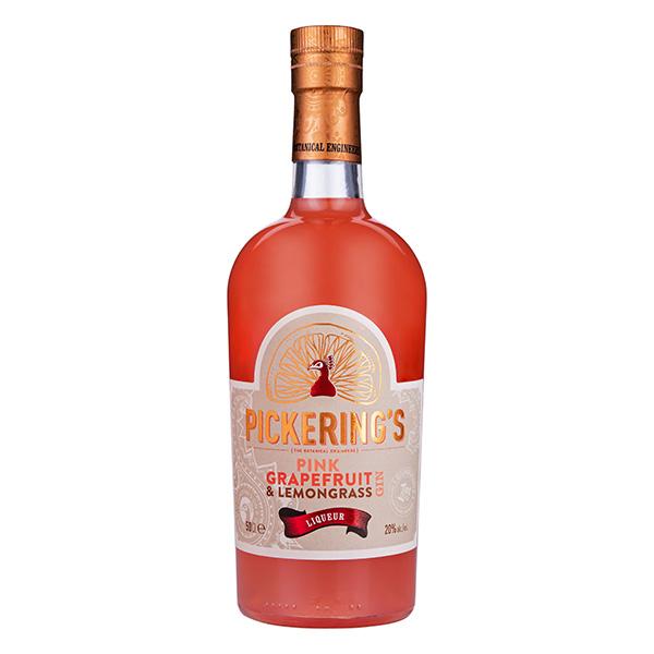 Pickering's Pink Grapefruit and Lemongrass Liqueur (50cl – UK sale only)