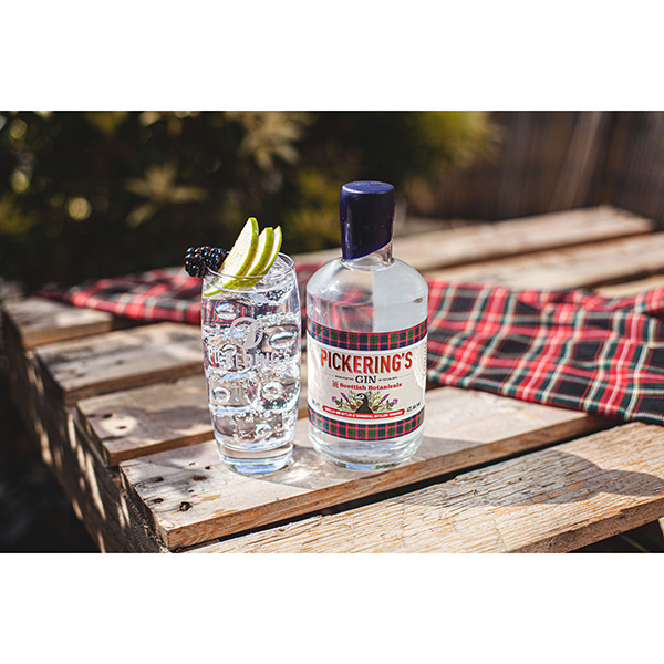 Pickering's Gin with Scottish Botanicals (50cl – UK sale only)