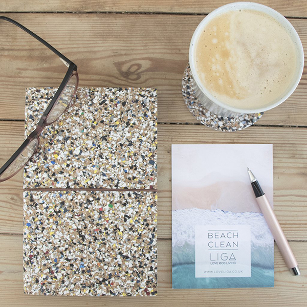 Eco beach clean notebook
