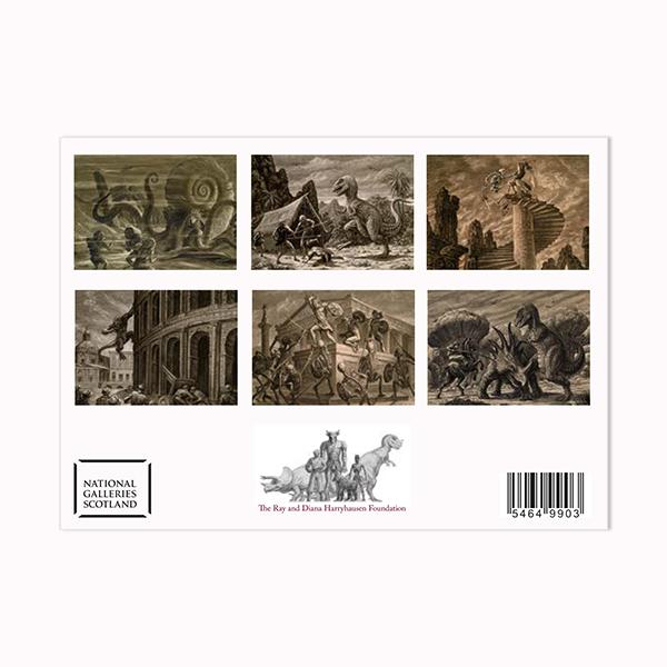 Ray Harryhausen Titan of Cinema postcard pack