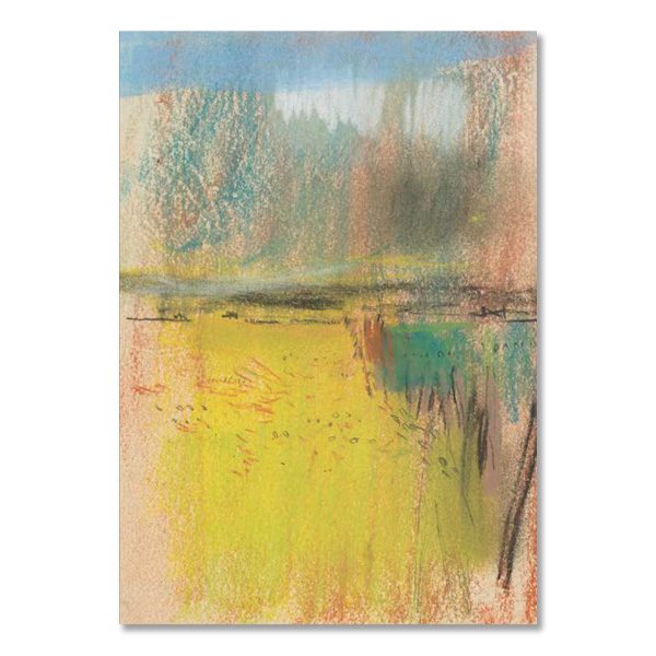 Cornfield and Wide Horizon by Joan Eardley greeting card