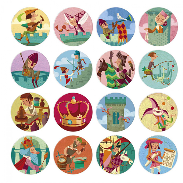 Medieval times memory game
