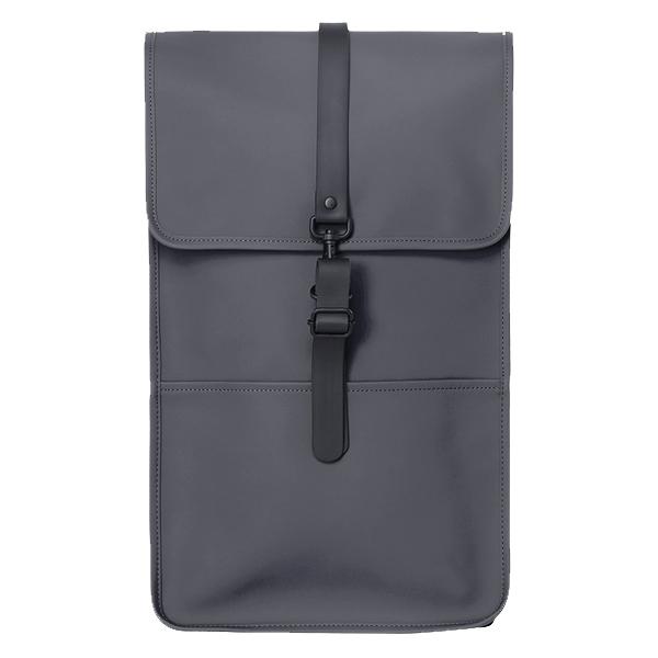 Waterproof charcoal dark grey backpack