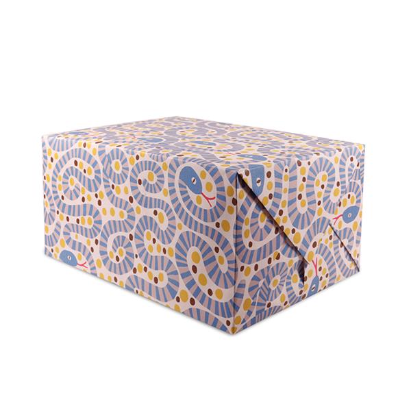 Snakes gift wrap (single sheet)