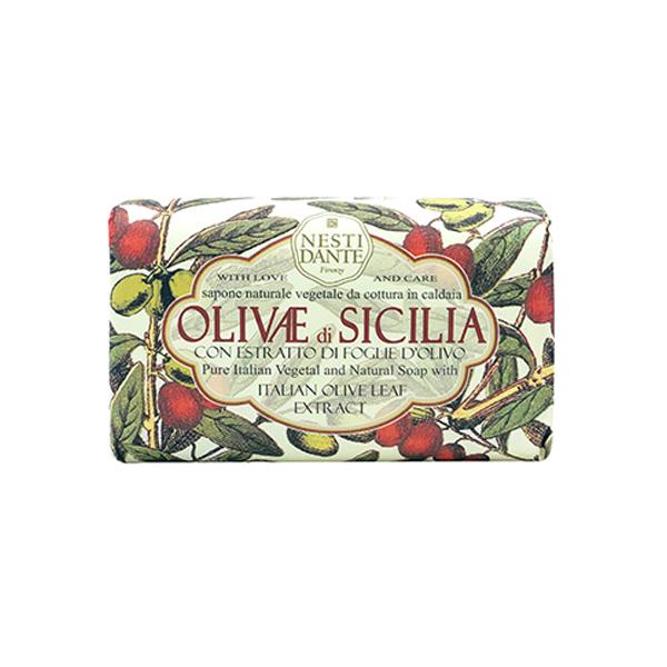 Sicilia olive natural soap bar
