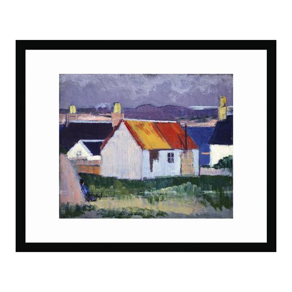 Iona Croft by FCB Cadell (30 x 40 cm) framed print