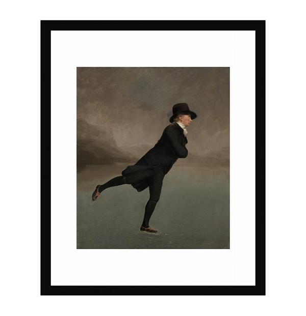 Reverend Walker (30 x 40 cm) framed print