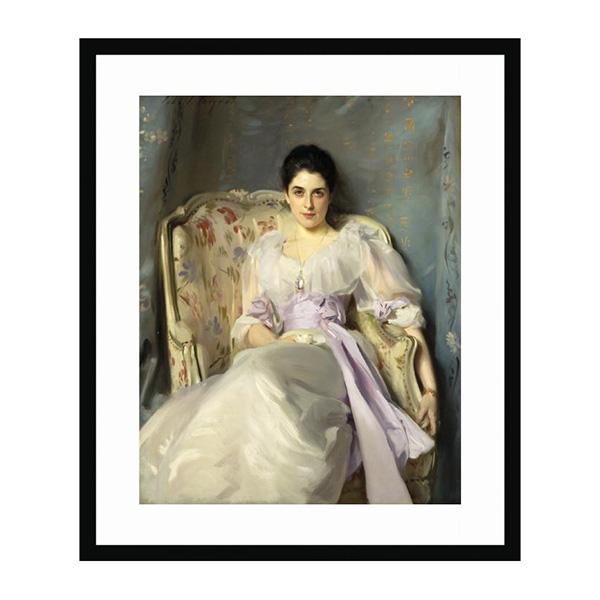 Lady Agnew of Lochnaw by John Singer Sargent (40 x 30 cm) framed print