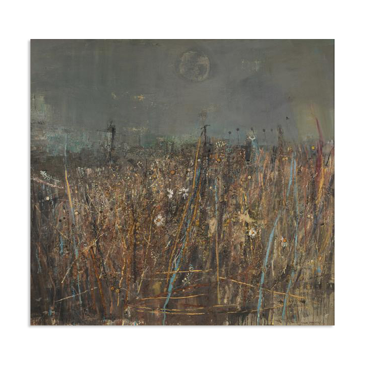 Seeded Grasses and Daisies by Joan Eardley (60 cm) stretched canvas