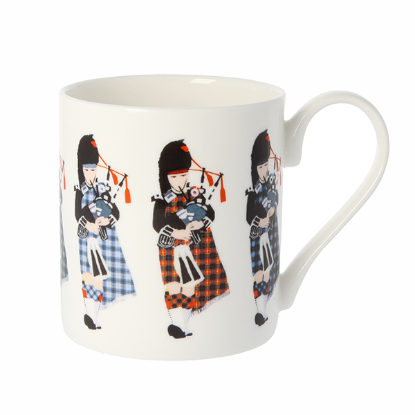 Pipers by Chris McColl mug