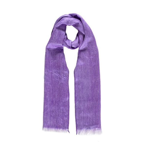 Lavender alpaca scarf