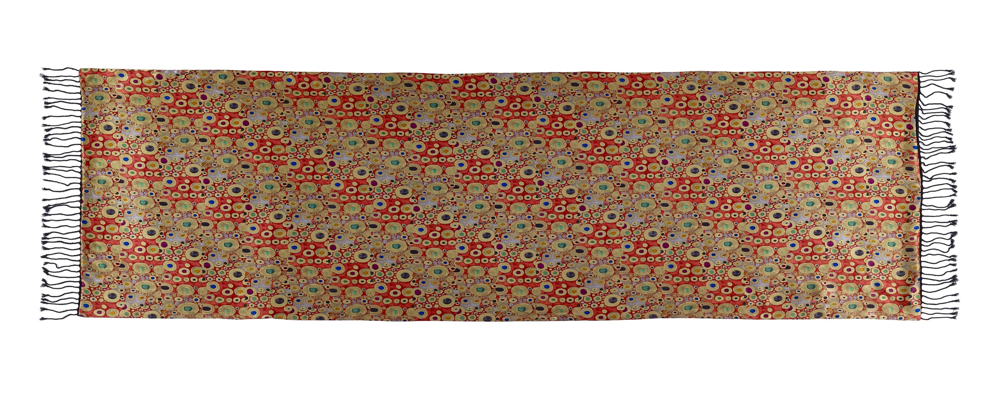 Gustav Klimt Red Stole