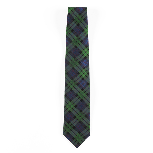 National Galleries of Scotland exclusive tartan silk tie