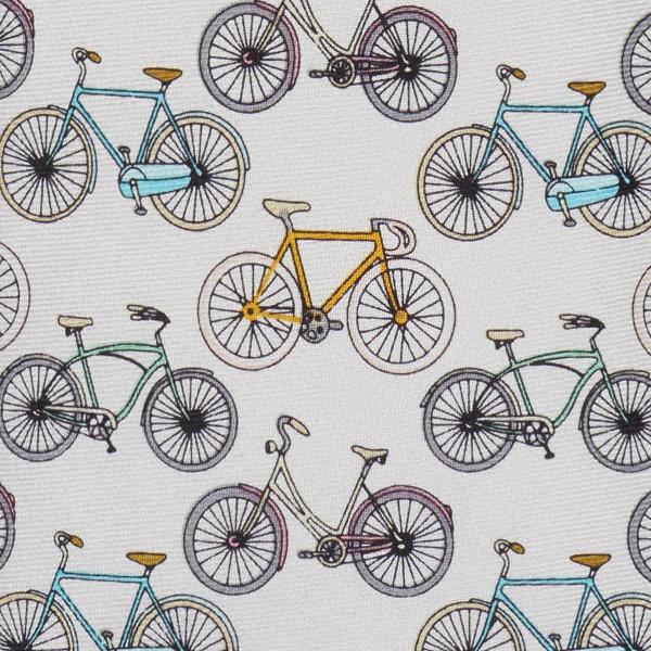 Bicycles Silk Tie