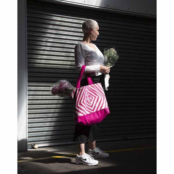Vibes by David Shrigley market bag