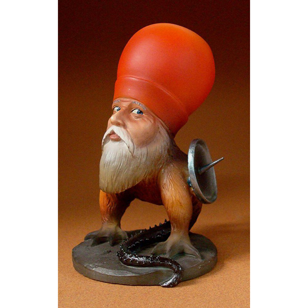 Freak with Beard by Hieronymus Bosch hand painted resin replica figure