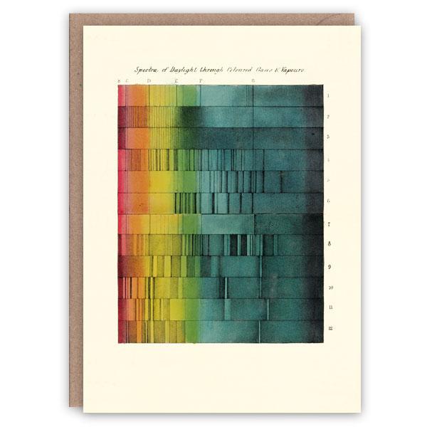Daylight pattern book greeting card