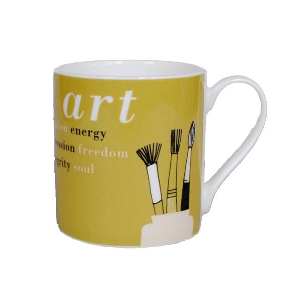 Gallery olive art mug