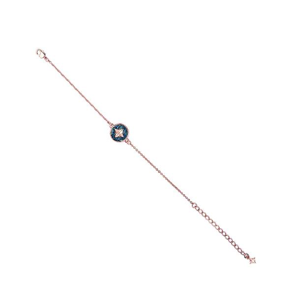 Swarovski crystal navy star bracelet
