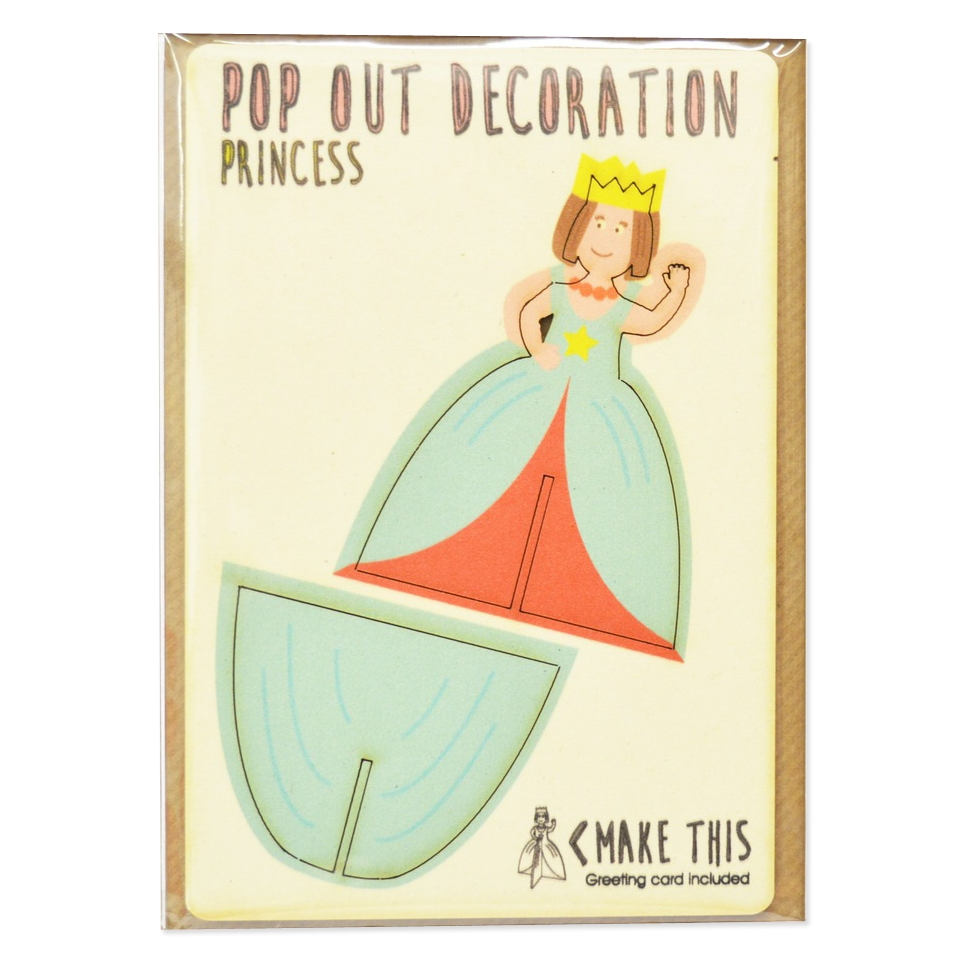 Princess Pop Out Greeting Card
