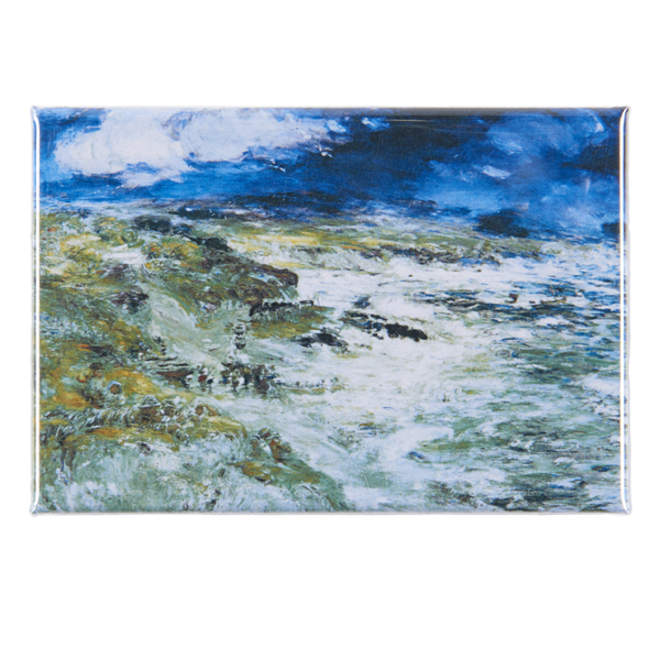 The Storm by William McTaggart magnet