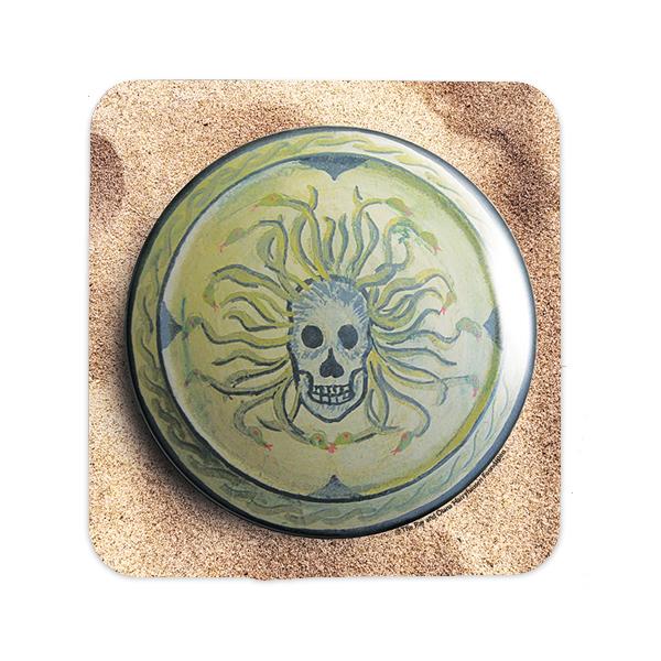 Medusa shield from Jason and the Argonauts coaster