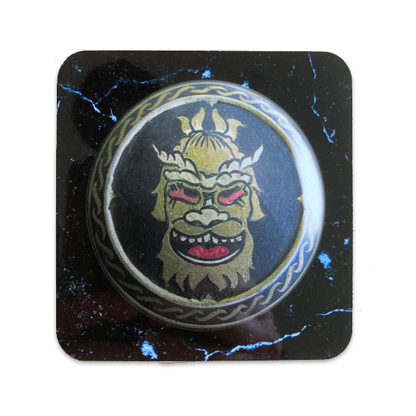 Troll shield from Jason and the Argonauts coaster