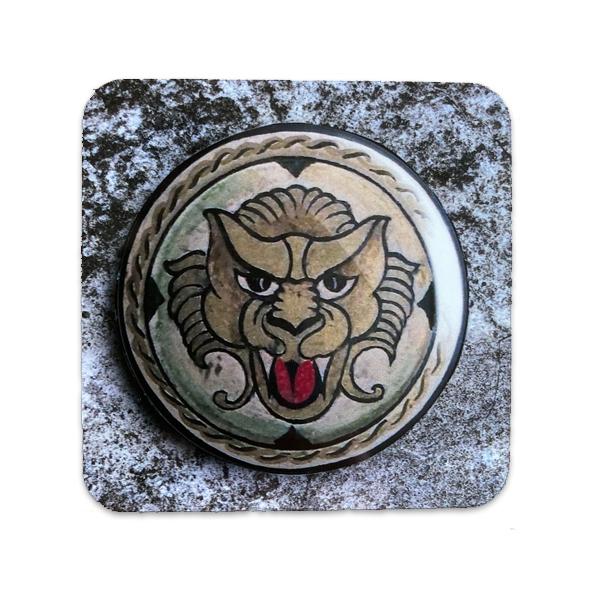Lion shield from Jason and the Argonauts coaster