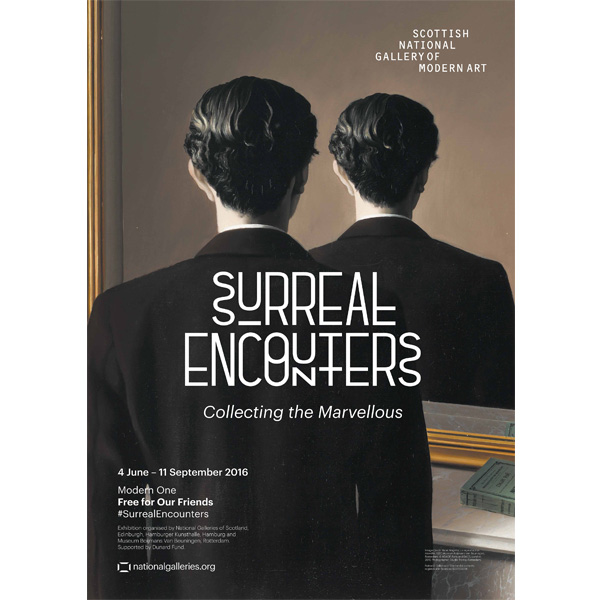 Surreal Encounters Exhibition Poster