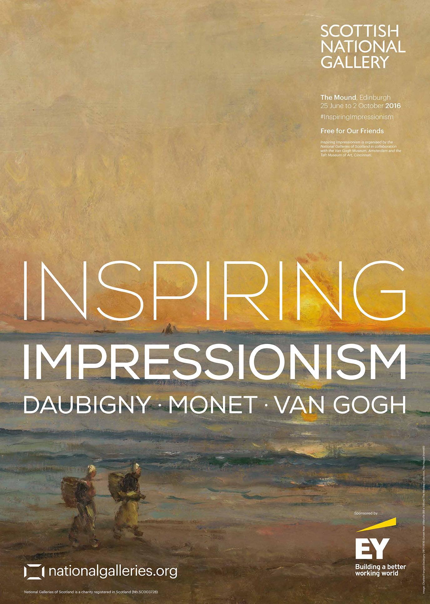 Inspiring Impressionism Exhibition Poster