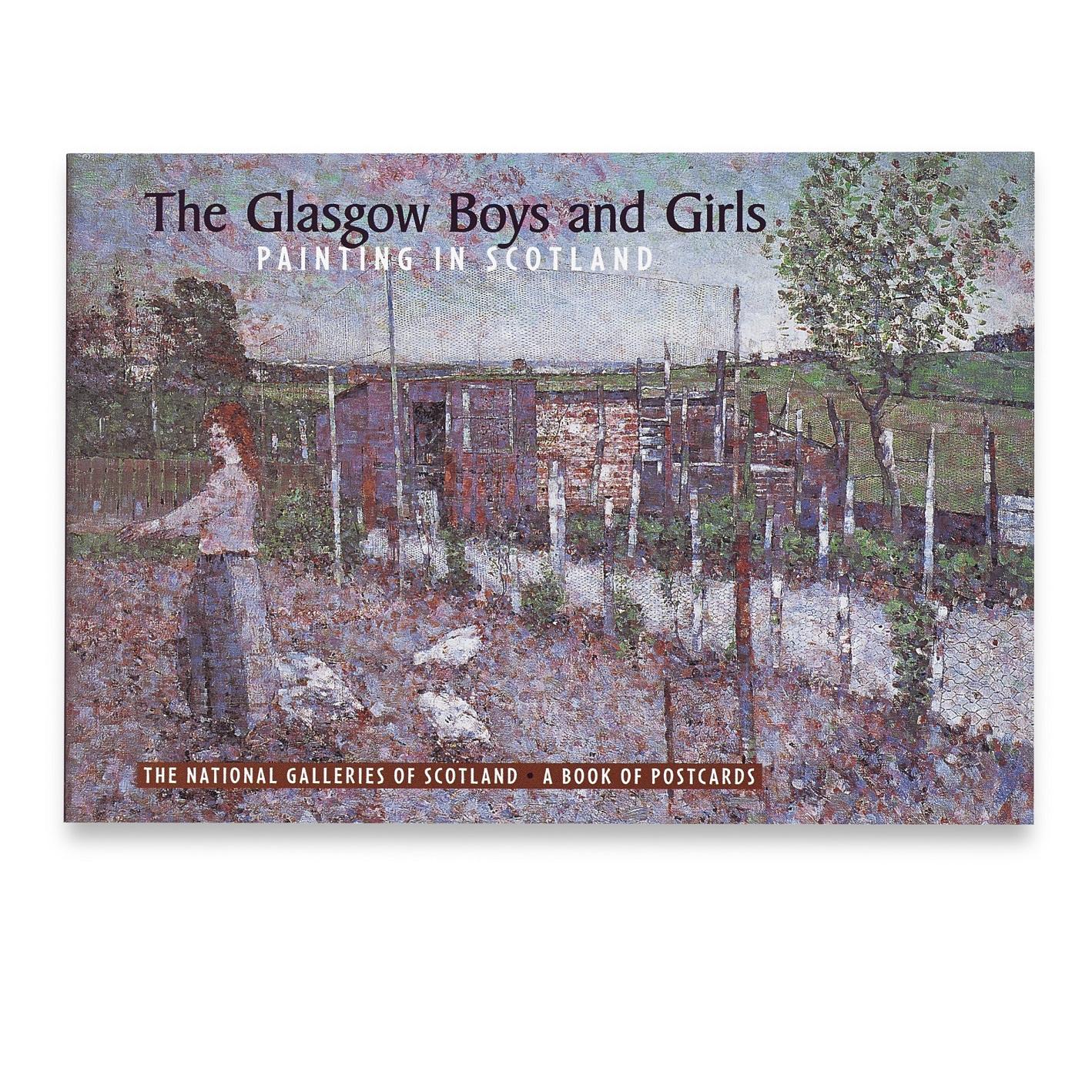 The Glasgow Boys & Girls Postcard Book
