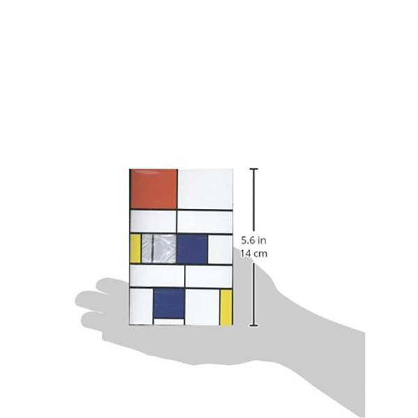 Piet Mondrian pocket-size notepad