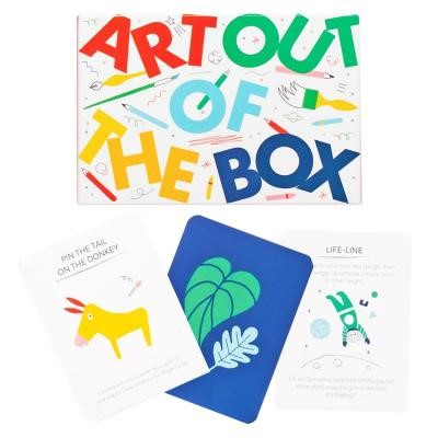 Art out of the box activity game