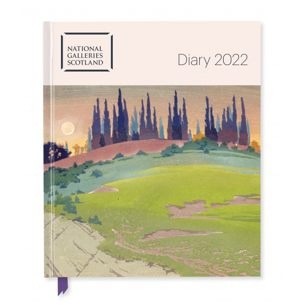 Pre-order National Galleries of Scotland 2022 desk diary