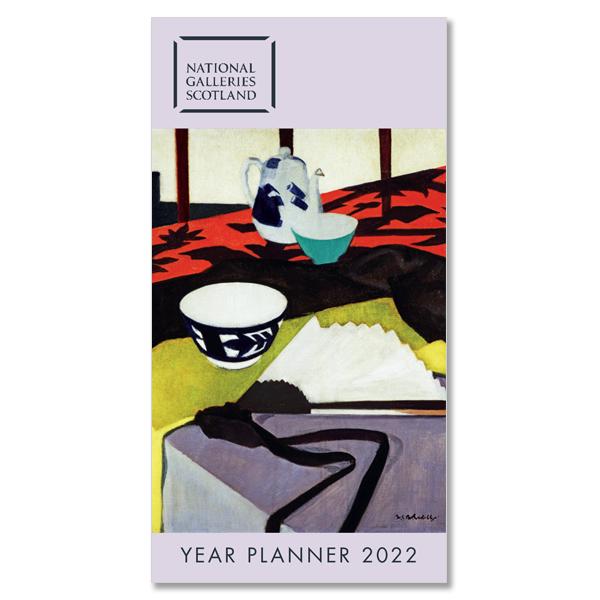 Scottish Colourists 2022 pocket year planner