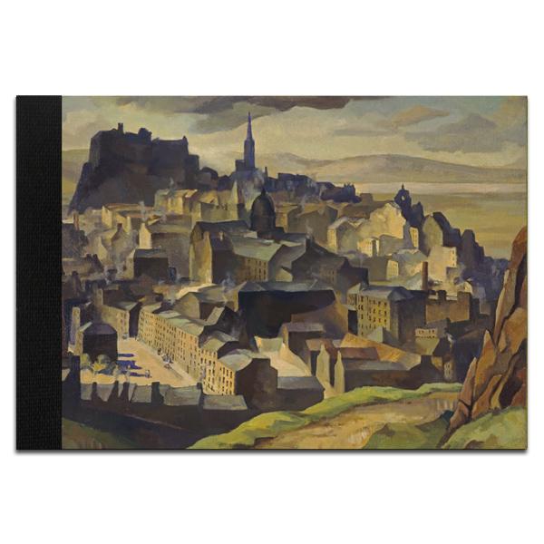 Edinburgh (from Salisbury Crags) William Crozier A5 Sketchbook