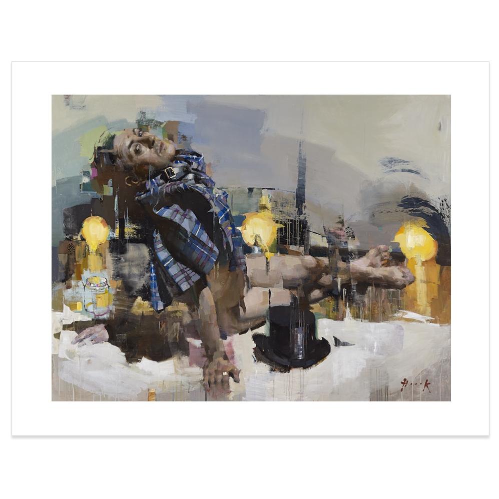 Alan Cumming by Christian Hook art print