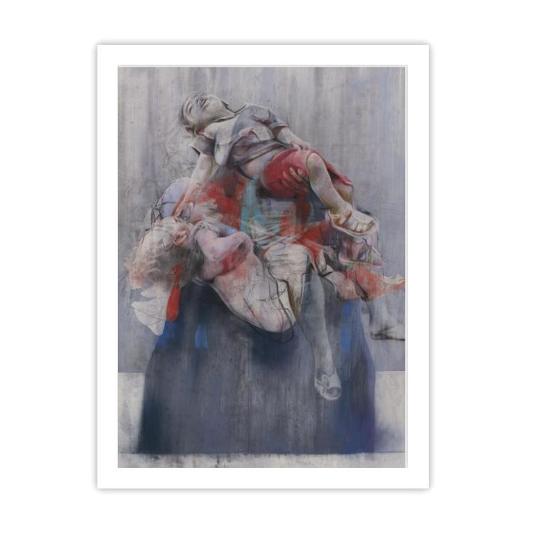 Aleppo by Jenny Saville ready to hang framed print