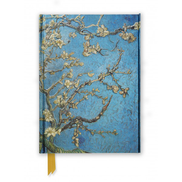Almond Blossom by Van Gogh A5 foil cover notebook