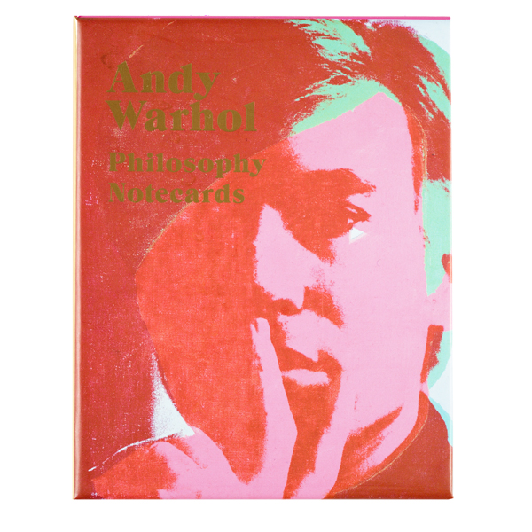 Philosophy Andy Warhol Notecard Set