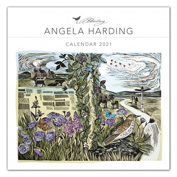 Animals by Angela Harding 2021 wall calendar