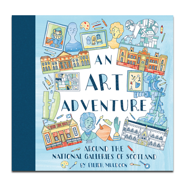 An Art Adventure Colouring Book