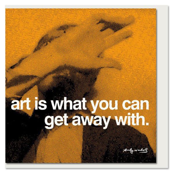 Art Andy Warhol Greeting Card