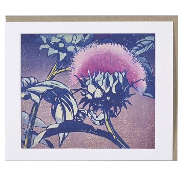 Artichoke by Mabel Royds greeting card