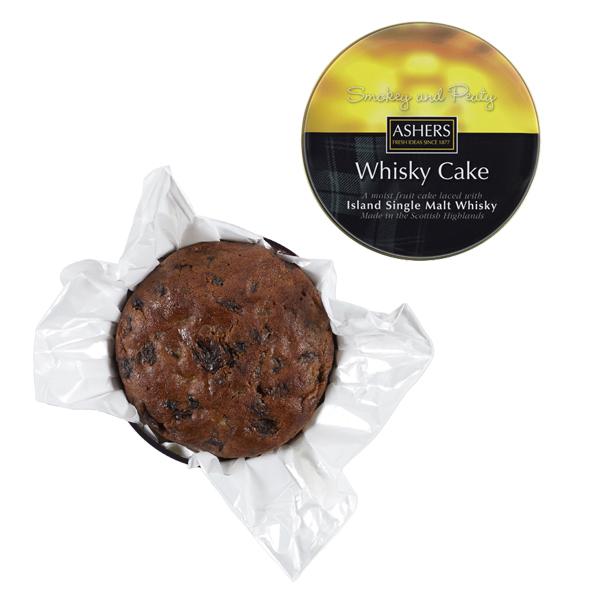 Scottish island single malt whisky fruit cake