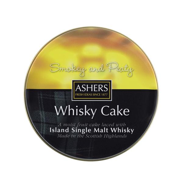 Ashers Single Island Malt Whisky Cake