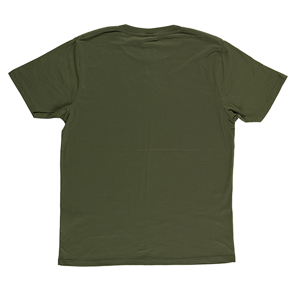 Atari graphic olive large cotton t-shirt