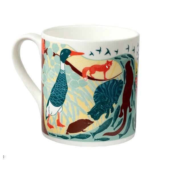 Woodland creatures mug
